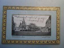 Ansichtskarte Weissenburg i. Elsass 1903 Anselmann Staden