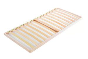 Slats bed base 2ft6 Small Single 75 x 190 cm Beech Wood Orthopedic Easy Assembly