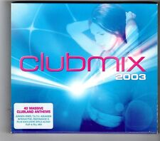 (HK377) Clubmix 2003, 40 tracks various artists - 2003 double CD