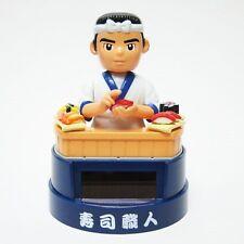 Solar Figurine Sushi Chef Shokunin Sushi Shop Japanese toy Japan