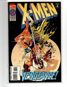 1994 X-Men Comic Book Vol 1 # 38 Gambit Sabertooth Series Direct Edition