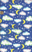 OOP! CLOUDS/MOON/STARS WITH GLITTER - BTY