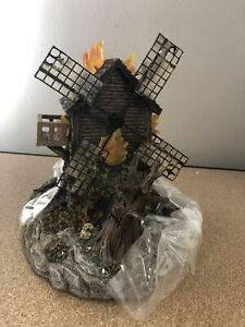 Frankenstein's Burning Windmill Hawthorne Village Universal Studios Monsters