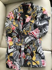 NEW M&CO FLORAL PRINT JACKET - SIZE 14