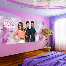 Enfants papier peint papiers peints photos papier peint papier peint la fresque disney violetta 3fx1580vep