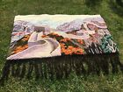 Vintage Great Wall of China Wool Wall Hanging Extra Large