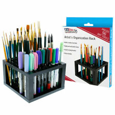 U.S. Art Supply 96 Hole Plastic Pencil Brush Holder