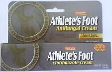 ATHLETE'S FOOT ANTIFUNGAL CREAM  1% CLOTRIMAZOLE & Aloe  Natureplex 1.25oz