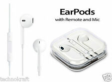 iPhone Handsfree Earphone for Apple iPhone 6+ 6s 6 5 5s With Remote & Mic-White