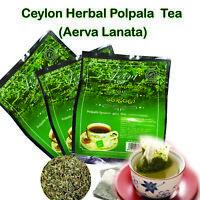 Aerva Lanata  Herbal Polpala tea Life enhancing 2gx10 Tea Bags