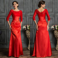 MERMAID Long Wedding Formal Prom Pageant Party New Bridesmaid Evening Dress Gown