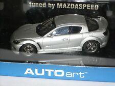 VOITURE MINIATURE MAZDA RX8 SPEED 1/43 DANS SA BOITE AUTO ART