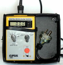 Clipsal 486D RCD RCCB ELCB Tester - includes GPO Cable