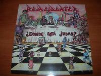 """REINCIDENTES -¿DONDE ESTÁ JUDAS?- LP 12"""" 33 RPM DISCOS SUICIDAS 1992"""