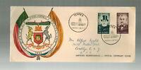1955 South Africa Pretoria Centenary Cover to USA Teppex