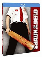 Shaun of the Dead (Blu-ray Steelbook Edition) Simon Pegg, Nick Frost NEW