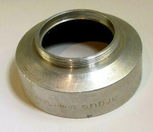 ARGUS 34mm series 5 V Metal Lens Hood Shade screw in for 34.5mm