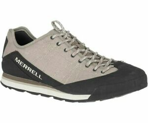 Mens Merrell Catalyst Canvas Lace Up Shoes Trainers Sneakers Size UK 7 41 Beige