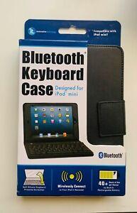Bluetooh Keyboard Black case Design for iPad mini Innovative Technology New
