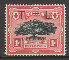TONGA 1899 #54b VARIETY HYPHEN 3mm MINT VICTORIA STAMP