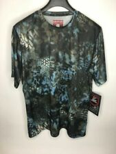 Men's Kryptek Hyperion Neptune Short Sleeve Crew Shirt •Size XL *NWT