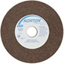 Norton Gemini Bench&Pedestal Grinding Wheel,Type 01, Round Hole,Alum Oxide