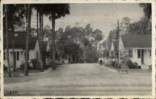 Daytona Beach FL Stickles Villas Route 1 Postcard