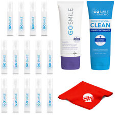 Go Smile GS134 Teeth Whitening System Snap Pack Kit with Gel + Luxury Toothpaste