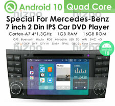 "For Mercedes-Benz W211 W219 E350 7"" GPS Car DVD Radio Player Stereo Android DAB+"