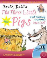 Musicals 3 Little Pigs  BOOK NEW