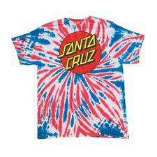 Santa Cruz Skateboards Old School Classic Dot T-Shirt Tie-Dye