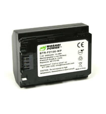 Wasabi Power NP-FZ100 Li-ion Battery 7.2V 2000mAh For Sony A9 A7RIII A7III�€AU�€'
