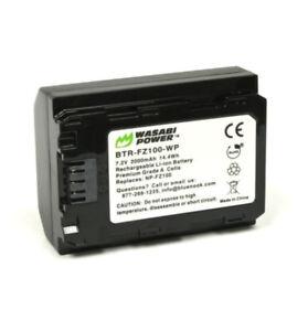 Wasabi Power NP-FZ100 Li-ion Battery 7.2V 2000mAh For A9 A7RIII A7III【AU】