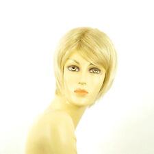 Perruque femme courte blond doré méché blond très clair  OCEANE 24BT613