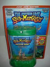 THE AMAZING LIVE SEA-MONKEYS MARINE ZOO GREEN TANK (BRAND NEW)