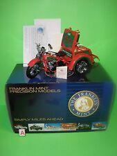 Franklin Mint 1:10 HARLEY DAVIDSON 1947 Servi-Car B11D887 2004 CHRISTMAS EDITION