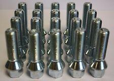 20x M14x 1,5 40mm Largo Pernos PARA LLANTAS DE ALEACIÓN Vw Scirocco Sharan