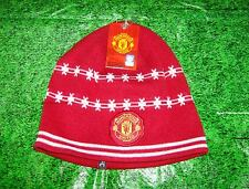 Licensed Manchester United Red with white stars Knit Hat