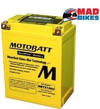MBTX14AU Motobatt Mejora Batería de Motocicleta Ver lista Ajuste