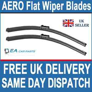 AUDI A4 2008+ EA  Flat Wiper Blades 24-20