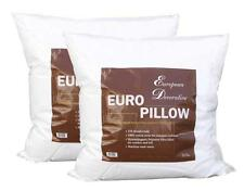 "2X New 26"" x 26"" Euro Pillow Form Polyester Fiber FILL Bed bedding Pillow Insert"