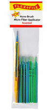 Flex-I-File Nano Brushes With Applicator Handle 24 Brushes Assorted