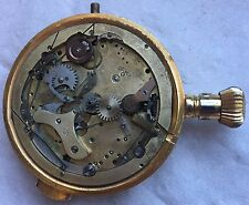 Quarter Repeater & Chronograph Pocket Watch movement & parts case