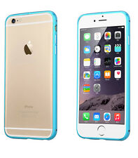 * De Aluminio Ultra Fino Metal Bumper Funda Protectora Para Iphone 5 5s 6 6plus libre de película