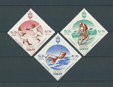 LIBAN - 1962 YT 254 à 256 - POSTE AERIENNE - TIMBRES NEUFS** MNH LUXE