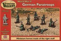 Valiant Miniatures 1/72 II Guerra Mundial Alemán PARACAIDISTAS #0006