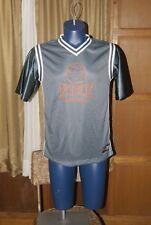 Youth Kids Nike Basketball Jersey Gray Orange Sz XL