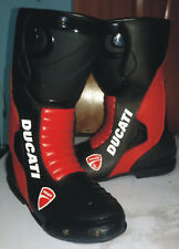 Ducati Men's Motorcycle Boots Riding Leather Boots All Size Available