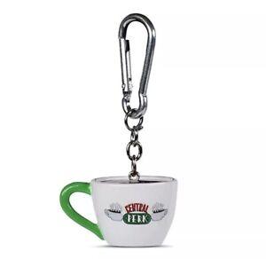 Friends TV Central Perk Mug Logo 3D Polyresin Keyring Keychain 🇬🇧 UK SELLER