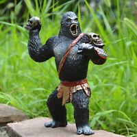 King Kong Skull Island Gorilla Warrior Model Action Figure Kids Toy Chimpanzee